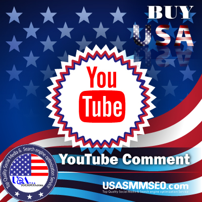 Buy USA YouTube Comment