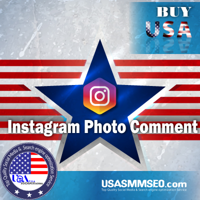 Buy USA Instagram Photo Comment