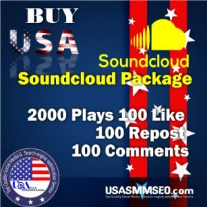 Buy Soundcloud 2000 Plays 100 Like 100 Repost 100 Comments