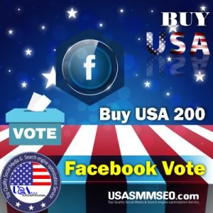Buy USA 200 Facebook Votes
