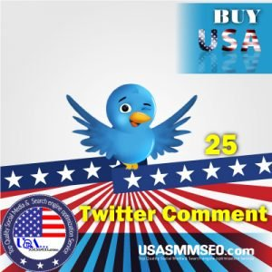Buy USA 25 Twitter Comments