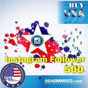 Buy USA 500 Instagram Follower
