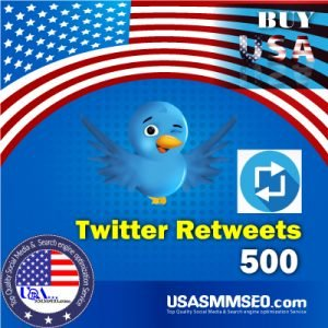 Buy USA 500 Twitter Retweets
