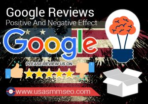 Google Reviews Positive And Negative Effect