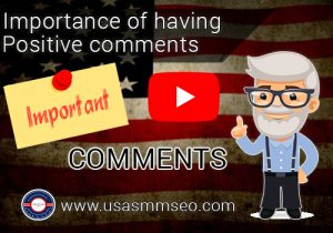 Importance of Having Positive Comments